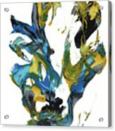 Abstract Expressionism Painting Series 716.102710 Acrylic Print