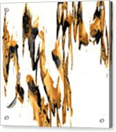 Abstract Expressionism Painting Series 734.102910 Acrylic Print