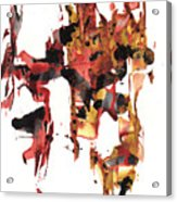 Abstract Expressionism Painting Series 744.102110 Acrylic Print