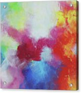 Abstract Expressions Acrylic Print
