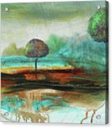 Abstract Fantasy Landscape Acrylic Print