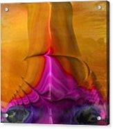 Abstract Fantasy Sailing Acrylic Print