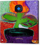 Abstract Floral Art 114 Acrylic Print