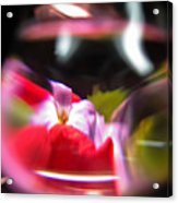 Abstract Flowers Part Two Acrylic Print