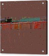 Abstract For Viv Acrylic Print