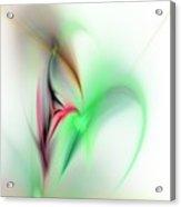 Abstract Fractal 052810  Acrylic Print