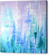 Abstract Frost 2 Acrylic Print