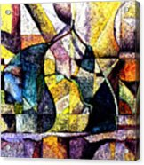 Abstract Fruit Still Life Acrylic Print