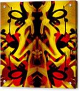 Abstract Graffiti 19 Acrylic Print