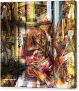 Abstract Graffitis Acrylic Print