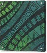 Abstract Green Acrylic Print