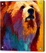 Abstract Grizz Acrylic Print