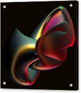 Abstract In 3d Acrylic Print