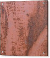 Abstract In Rust Acrylic Print