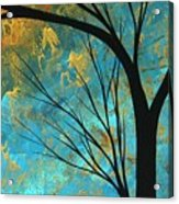 Abstract Landscape Art Passing Beauty 3 Of 5 Acrylic Print by Megan Duncanson