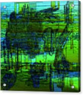 Abstract Landscape Acrylic Print