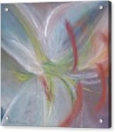Abstract Lily Acrylic Print