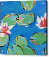 Abstract Lily Pads Acrylic Print