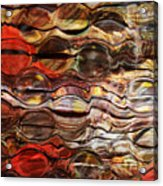 Abstract Magnified Lines Acrylic Print