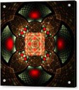 Abstract Mandala 2 Acrylic Print