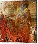 Abstract-mask Acrylic Print