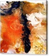 Abstract Metal Wall Art, Print On Aluminum, Original Oil Painting Acrylic Print
