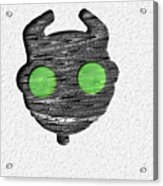 Abstract Monster Cut-out Series - Ferko Acrylic Print