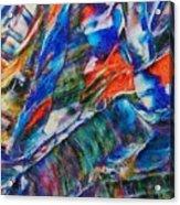abstract mountains II Acrylic Print