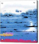 Abstract Ocean Acrylic Print