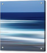 Abstract Ocean Waves Acrylic Print