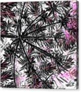 Abstract Of Ever Green Bush Acrylic Print