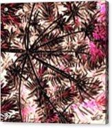 Abstract Of Low Growing Shrub  Acrylic Print