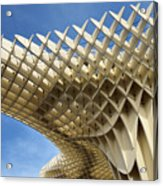 Abstract Of Metropol Parasol Pod At Plaza Of The Incarnation Sev Acrylic Print