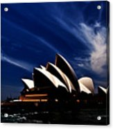 Abstract Of Sydney Opera House Acrylic Print