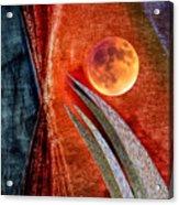 Abstract On Moon Acrylic Print