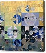 Abstract Painting - Sisal Acrylic Print
