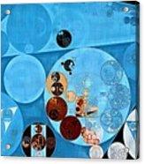 Abstract Painting - Spray Acrylic Print