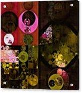 Abstract Painting - Tonys Pink Acrylic Print