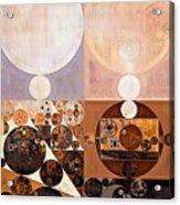 Abstract Painting - Zinnwaldite Acrylic Print