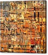 Abstract Part By Rafi Talby Acrylic Print
