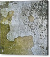 Abstract Pattern On The Wall Acrylic Print