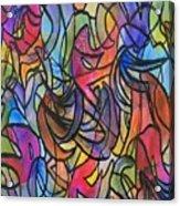 Abstract Pen Acrylic Print