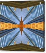 Abstract Photomontage N131v1 Dsc0965  Acrylic Print