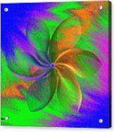 Abstract Pinwheel Acrylic Print