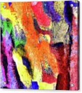 Abstract Poster Acrylic Print