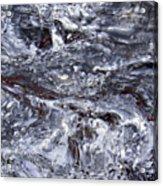 Abstract Rapids 5 Acrylic Print
