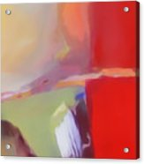 Abstract Red Acrylic Print