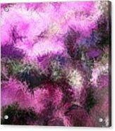 Abstract Rhythm Acrylic Print