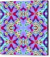 Abstract Seamless Pattern  - Blue Pink Purple Red Green Brown White Acrylic Print