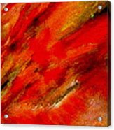 Abstract-simple Red 3 Acrylic Print